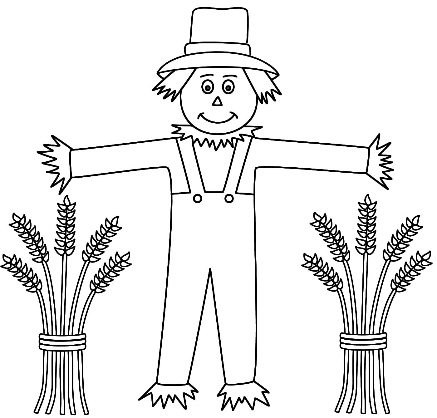 Scarecrow Templates - Hashtag Bg - Free Scarecrow Template Printable