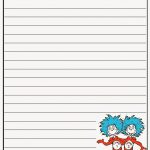 Scrap N Teach: Dr. Seuss Writing Papers (Free)   Dr Seuss Free Printable Templates