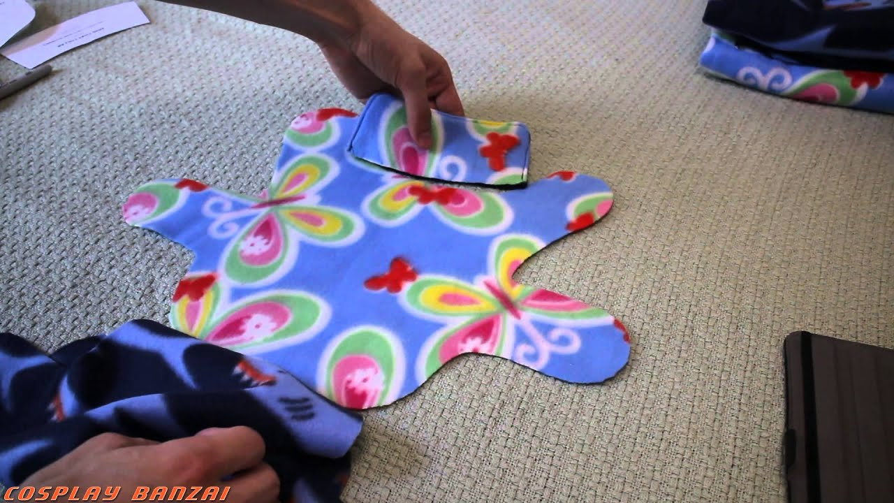 Sewing A Fleece Dog Coat - Youtube - Free Printable Sewing Patterns For Dog Clothes