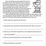 Short Story With Comprehension Questions: 3Rd Grade Reading Skills   Free Printable Short Stories With Comprehension Questions