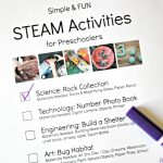 Simple And Fun Steam Activities For Preschoolers   The Educators   Free Printable Stem Activities