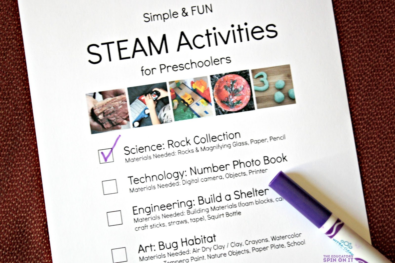 Simple And Fun Steam Activities For Preschoolers - The Educators - Free Printable Stem Activities