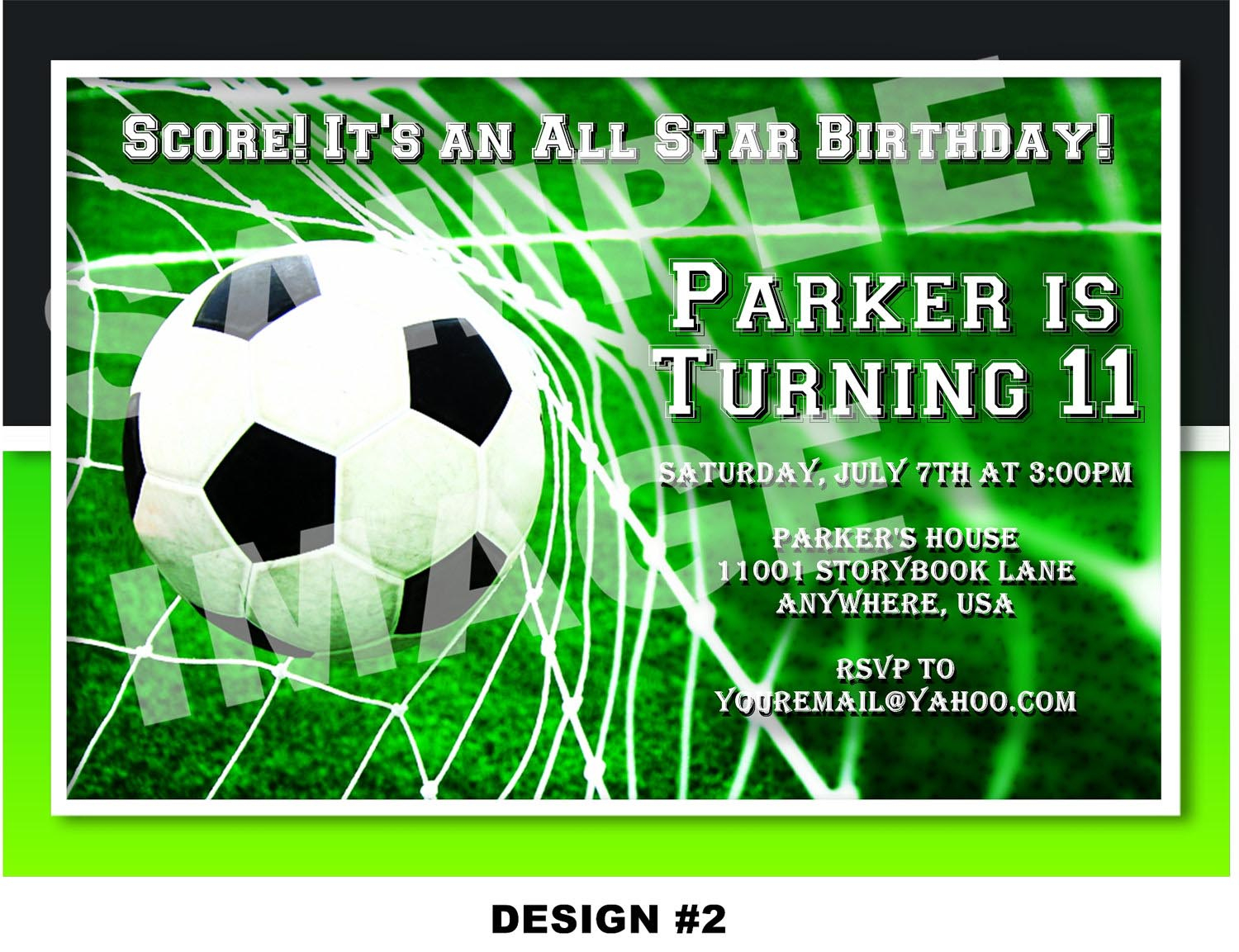Soccer Themed Birthday Party Invitations | Home Party Ideas - Free Printable Soccer Birthday Invitations