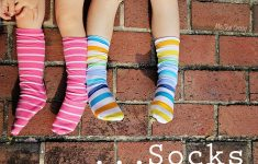 Free Printable Fleece Sock Pattern