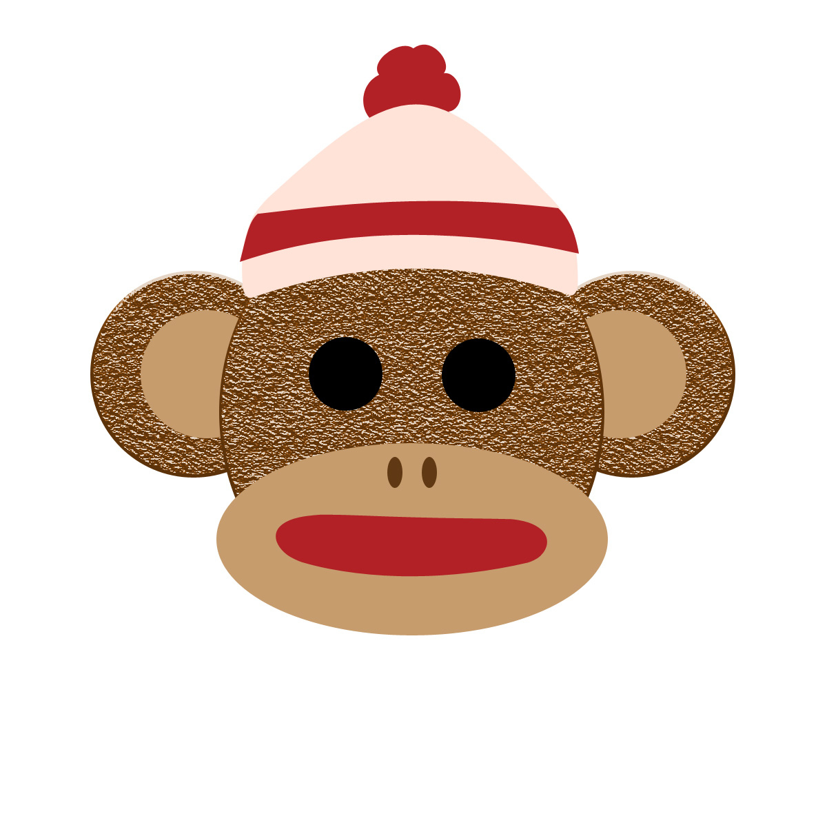 Sock Monkey Clipart Free Collection - Free Printable Sock Monkey Pictures