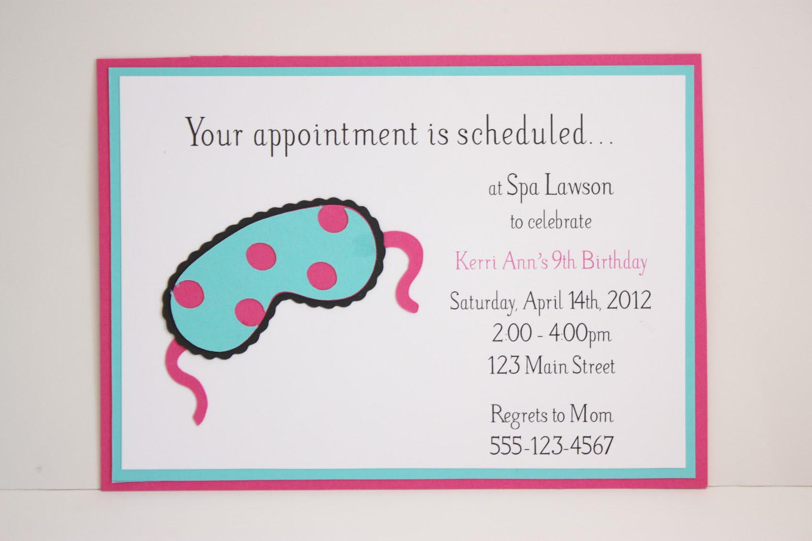 Spa Birthday Party Invitations Free Printable | Home Party Ideas - Free Printable Spa Party Invitations Templates