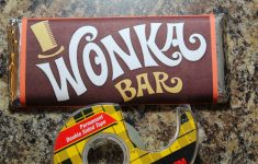 Wonka Bar Wrapper Printable Free