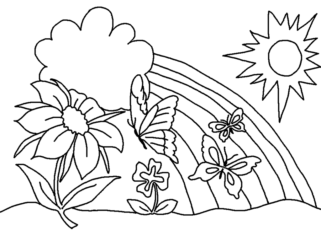 Spring Coloring Pages, Printable Spring Coloring Pages, Free Spring - Spring Coloring Sheets Free Printable