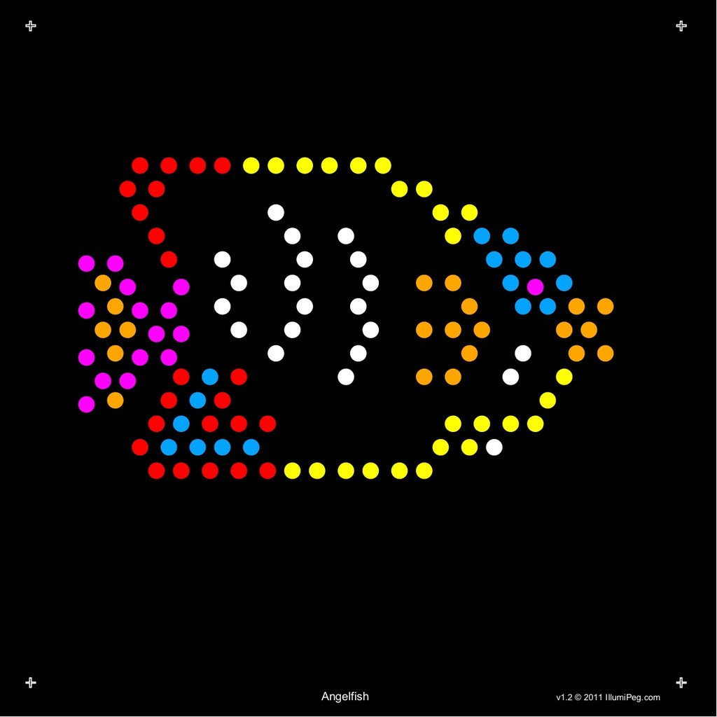 Square Lite Brite Design Refills: Under The Sea | Light Brite - Lite Brite Printable Patterns Free