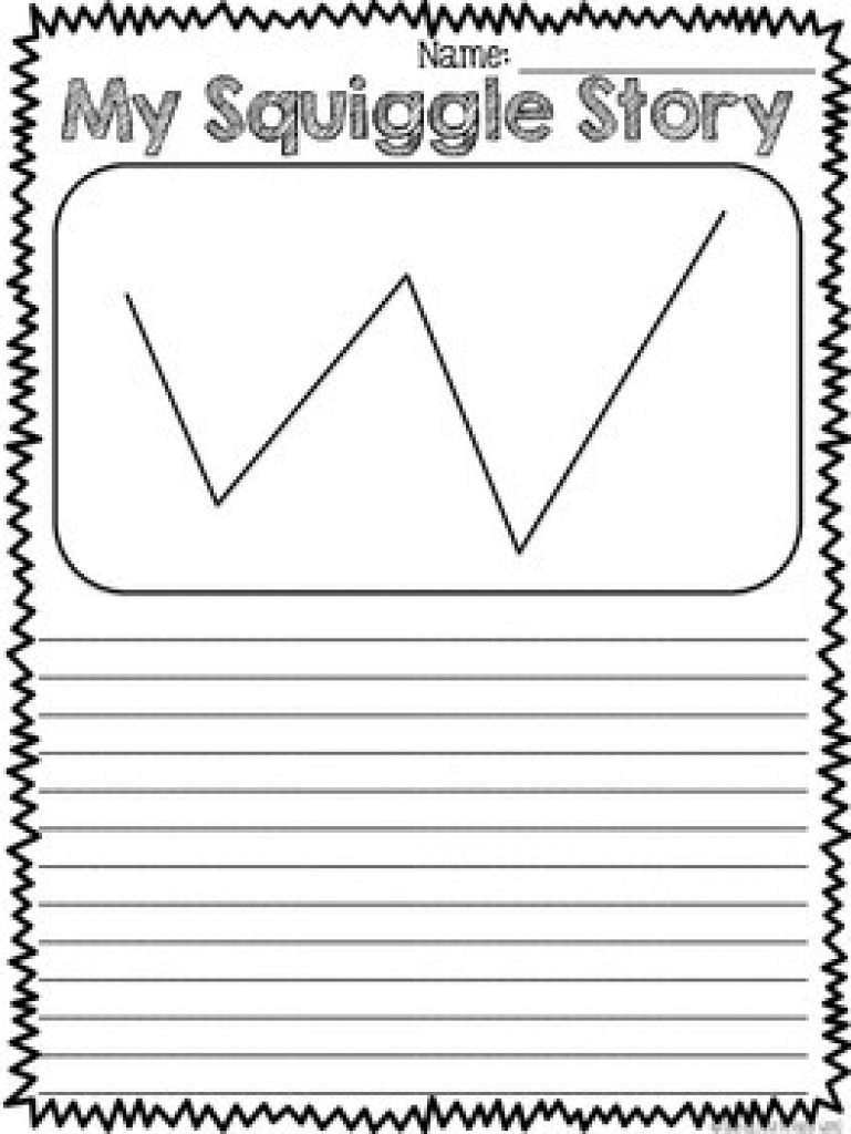 Squiggle Stories - Creative Writing Activity (Grades K-6)Natalie Kay - Free Squiggle Story Printable