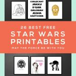 Star Wars Free Printables • A Roundup | Free Printables • Roundups – Free Printable Star Wars Baby Shower Invites