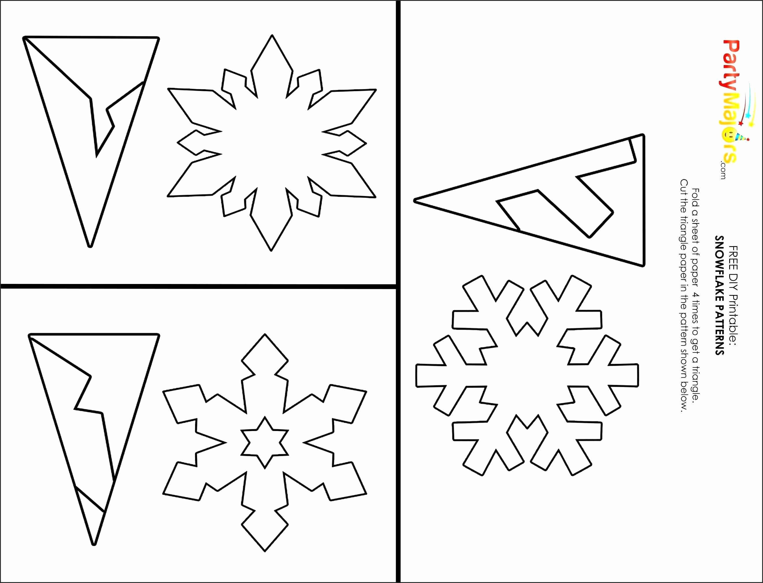 Star Wars Paper Snowflakes Lovely Printable Snowflake Cutouts 30 - Free Printable Snowflake Patterns