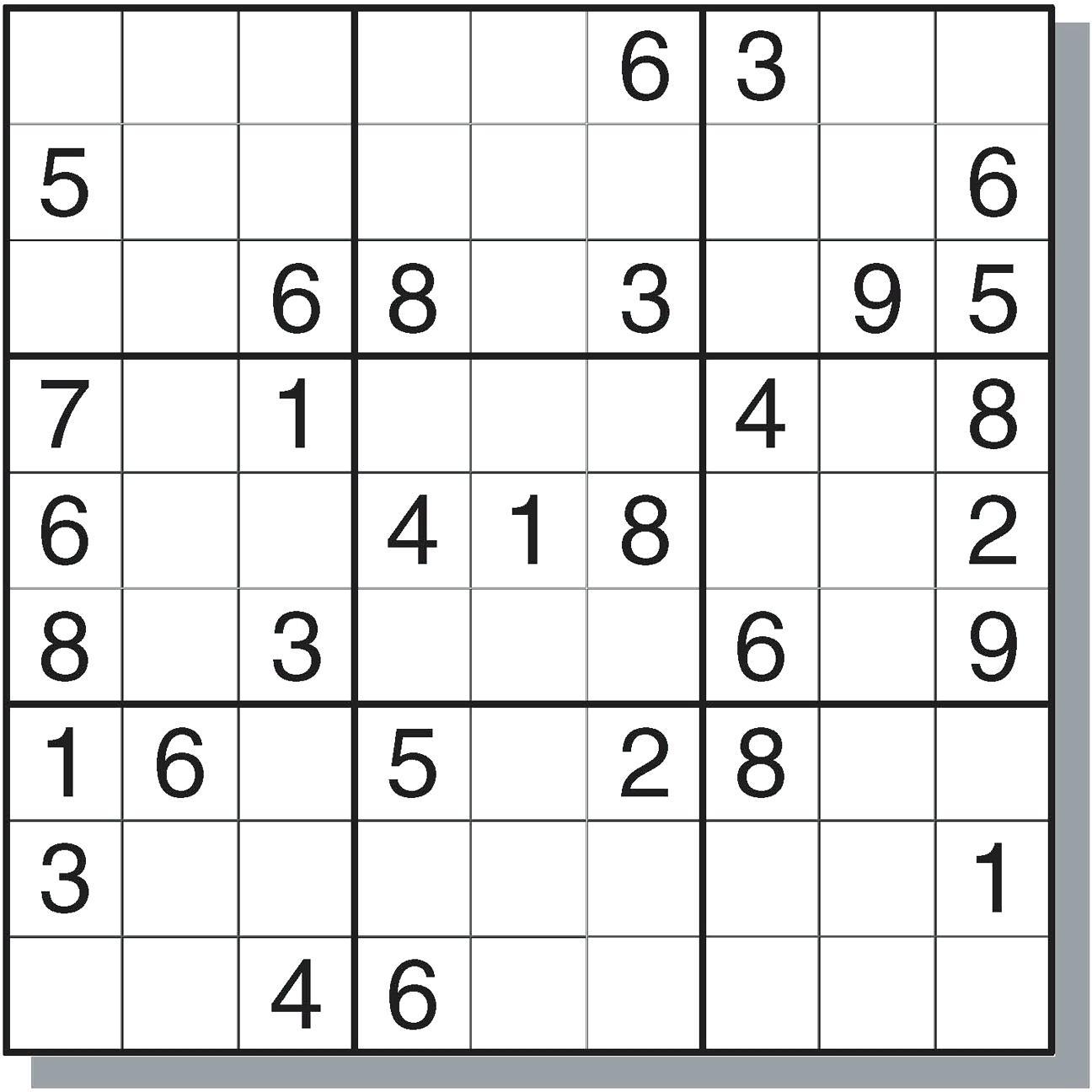 Sudoku Online - Ecosia - Free Printable Sudoku Puzzles