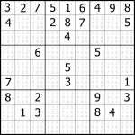 Sudoku Printable | Free, Medium, Printable Sudoku Puzzle #1 | My   Free Printable Sudoku With Answers