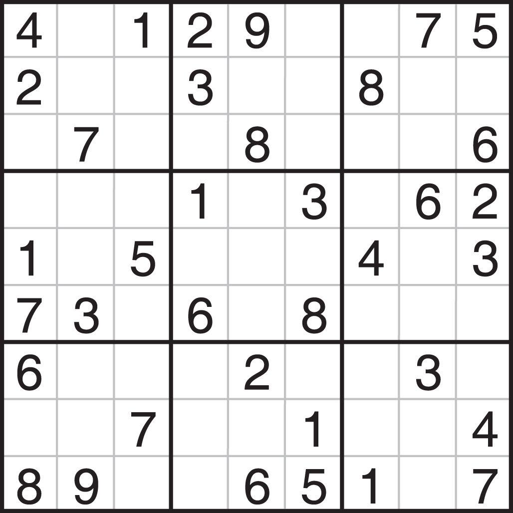 Sudoku Printables Easy For Beginners | Printable Sudoku | Things To - Free Printable Sudoku