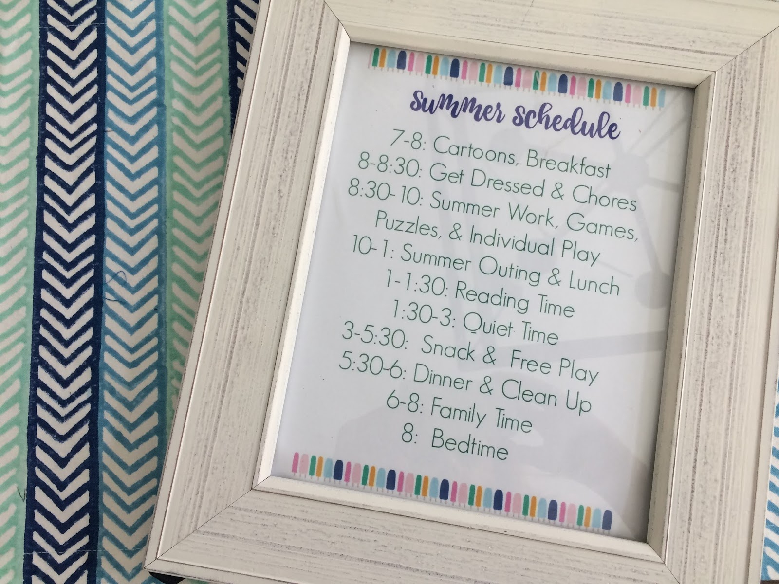 Summer Schedule For Kids (Free Printable) - The Chirping Moms - Free Printable Summer Games
