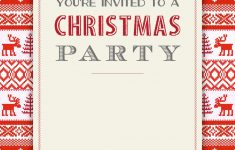 Free Printable Christmas Invitations
