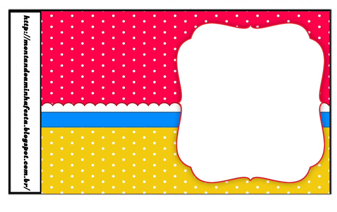 Sweet 16 Red, Light Blue And Yellow: Free Printable Candy Bar Labels - Free Printable Sweet 16 Labels