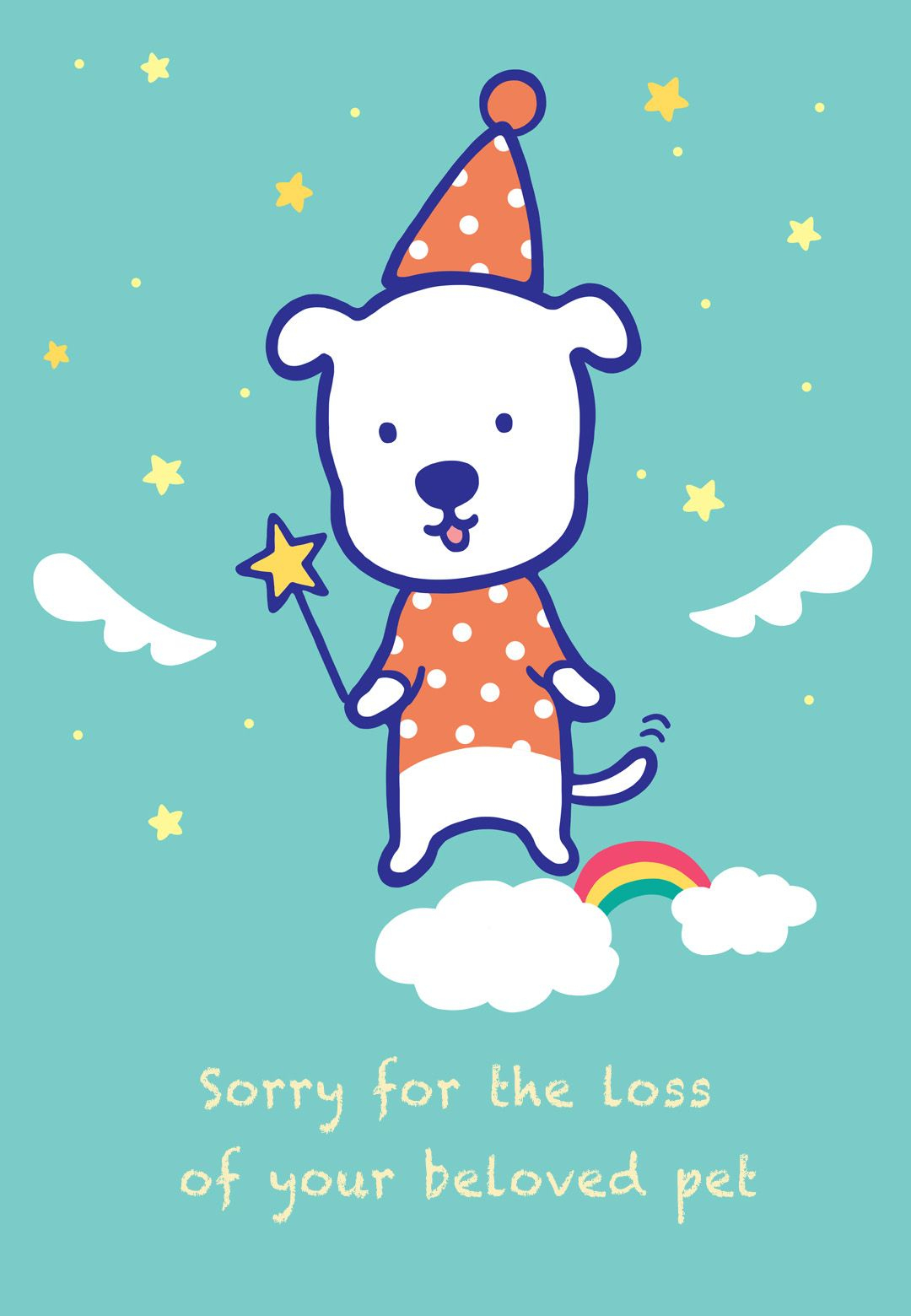 Sympathy #card For The Loss Of A #pet - Free Printable | Sympathy - Free Printable Sympathy Cards For Dogs