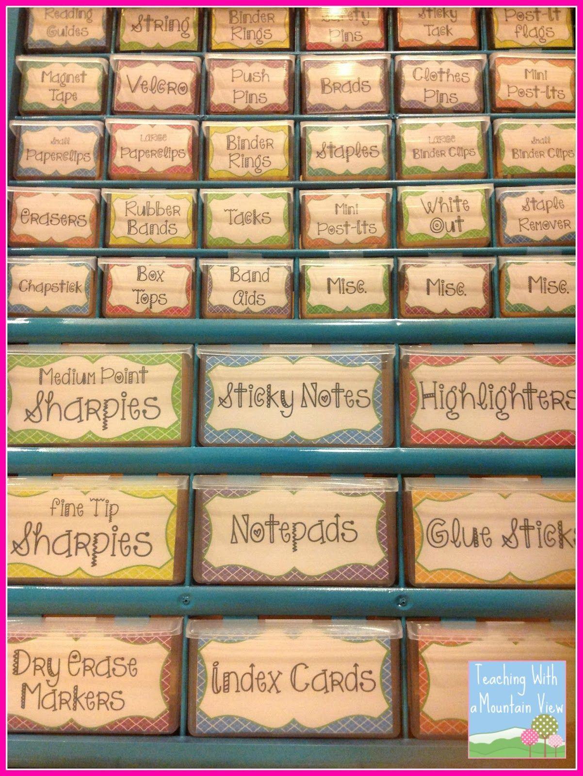 Teacher Toolbox Organizerat Last! | Classroom Organization - Free Printable Teacher Toolbox Labels