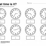 Telling Time Worksheets Grade 3 | Lostranquillos – Free Printable Time Worksheets For Grade 3