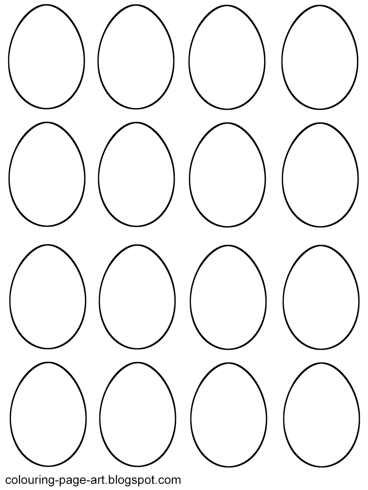 Template: Free Printables Easter Egg Template. Easter Egg Template - Easter Egg Template Free Printable