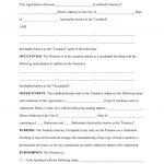 Texas Residential Lease Agreement Word Free Printable Rental Lease   Free Printable Lease Agreement Texas