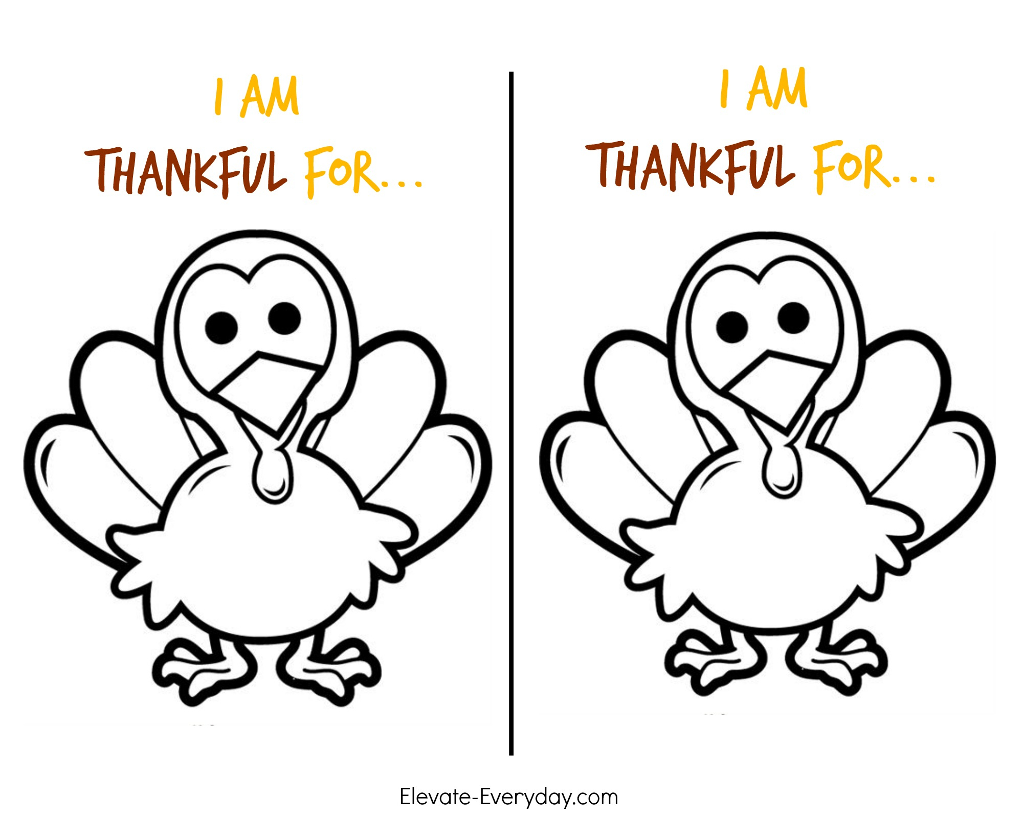 Thankful Turkey Craft + Free Printable | Pollinate Media Group - Free Printable Turkey Craft