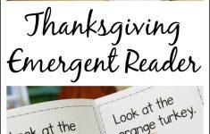 Free Thanksgiving Mini Book Printable