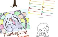 Thanksgiving Printables For Kids – Natural Beach Living – Free Printable Thanksgiving Activities
