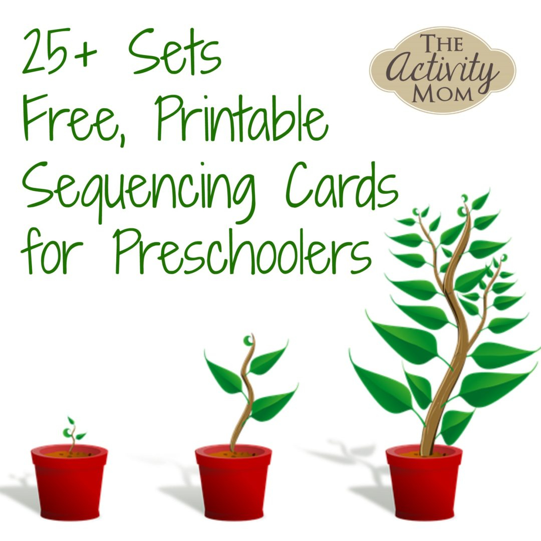 The Activity Mom - Sequencing Cards Printable - The Activity Mom - Free Printable Sequencing Cards