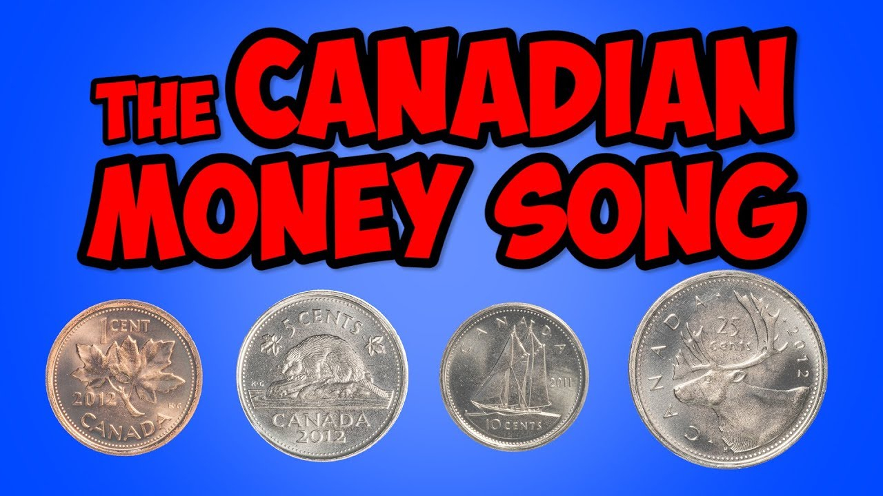The Canadian Money Song | Penny, Nickel, Dime, Quarter | Math Song - Free Printable Canadian Play Money For Kids
