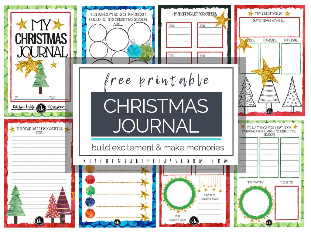 The Christmas Book- Free Christmas Printables - The Kitchen Table - Free Printable Preschool Memory Book