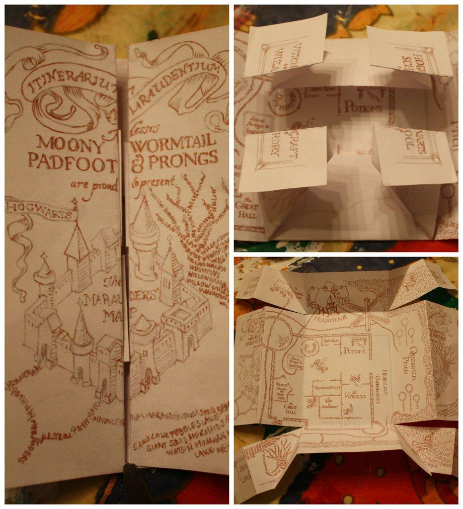 The Marauders Map   Potterlove   Harry Potter Marauders Map, Harry - Free Printable Marauders Map