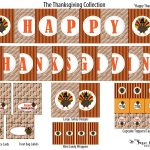 The Sugar Bee Bungalow: {Party Bee} Free Thanksgiving Collection   Free Printable Happy Thanksgiving Banner