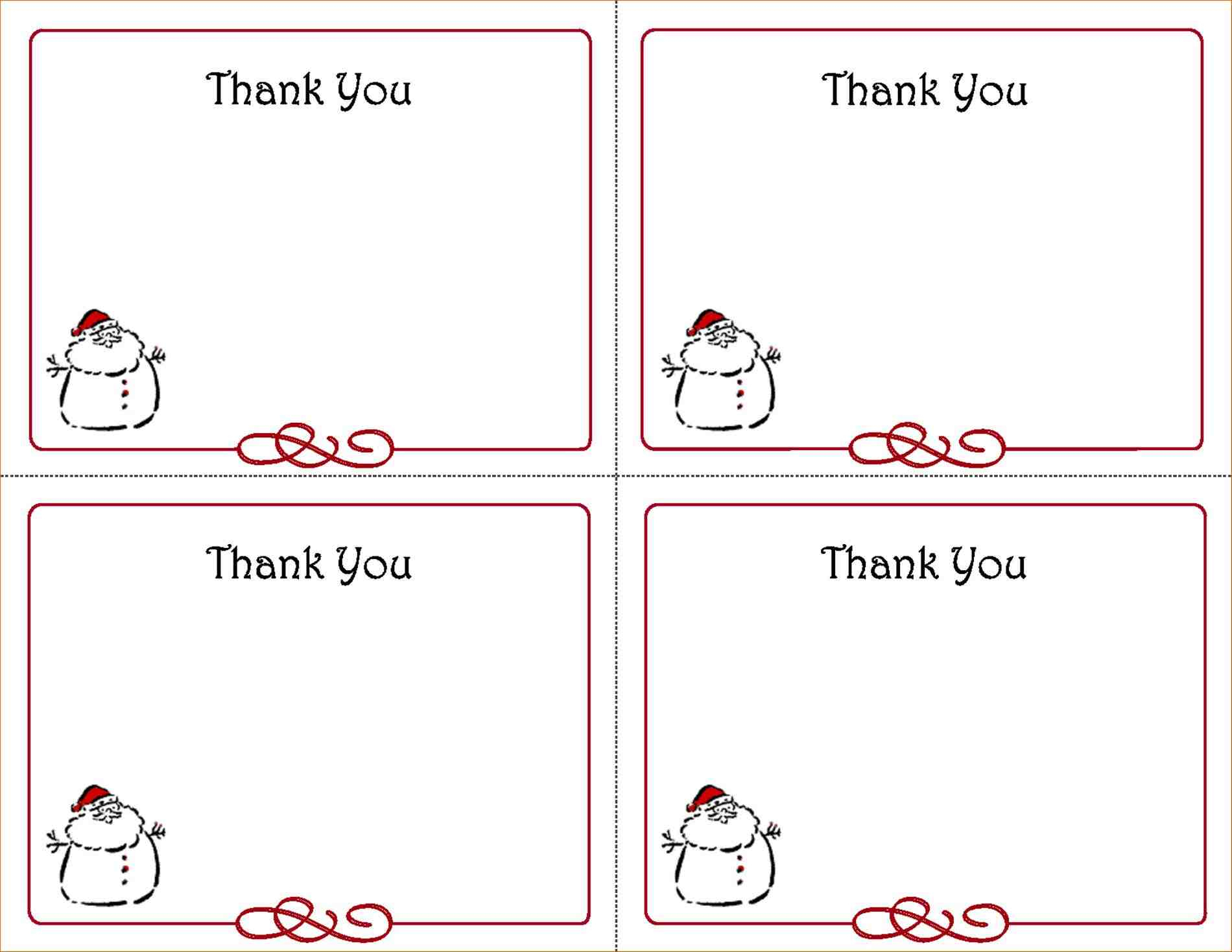 Themed-Birthday-Party-With-Free-Printables-Favors-And-Christmas-Gift - Free Printable Thank You Tags Template