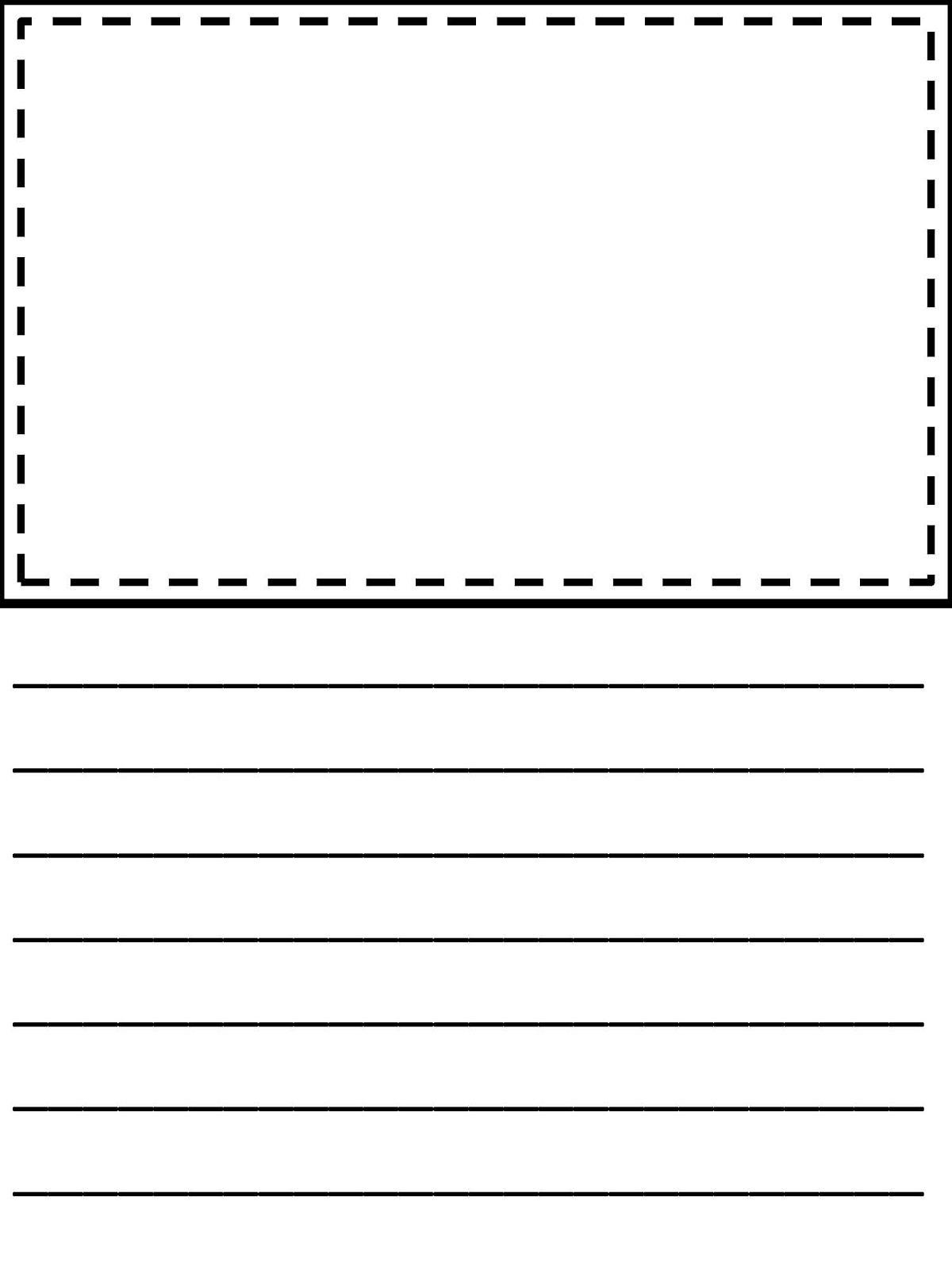 Third Grade Writing Paper   Homeshealth Handwriting Template - Free Printable Handwriting Paper