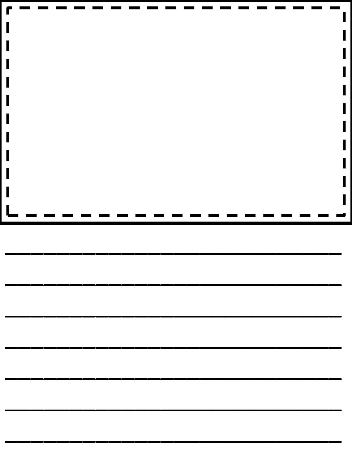 Third Grade Writing Paper   Homeshealth Handwriting Template - Free Printable Writing Paper