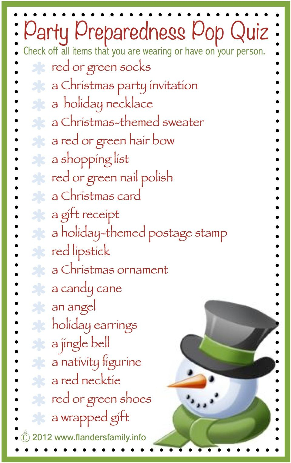 This Site Has Lots Of Free Printable Party Games And Activities For - Holiday Office Party Games Free Printable