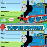 Thomas & Friends Party Invitation: Free | Birthday Party Ideas   Thomas Invitations Printable Free