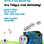 Thomas The Tank Engine Invitation ← Wedding Invitation Templates   Thomas Invitations Printable Free