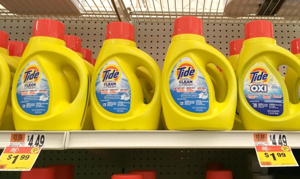 Tide Simply Detergent Or Bounce Dryer Sheets Just $0.99 At Stop - Free Printable Tide Simply Coupons