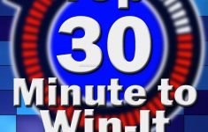 Top 30 Minute To Win It Games – For Adults, Kids, Teens (Plus – Free Printable Minute To Win It Invitations