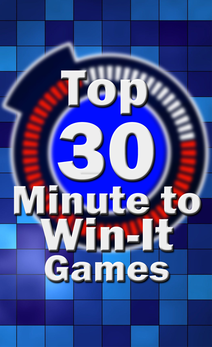 Top 30 Minute To Win It Games - For Adults, Kids, Teens (Plus - Free Printable Minute To Win It Invitations