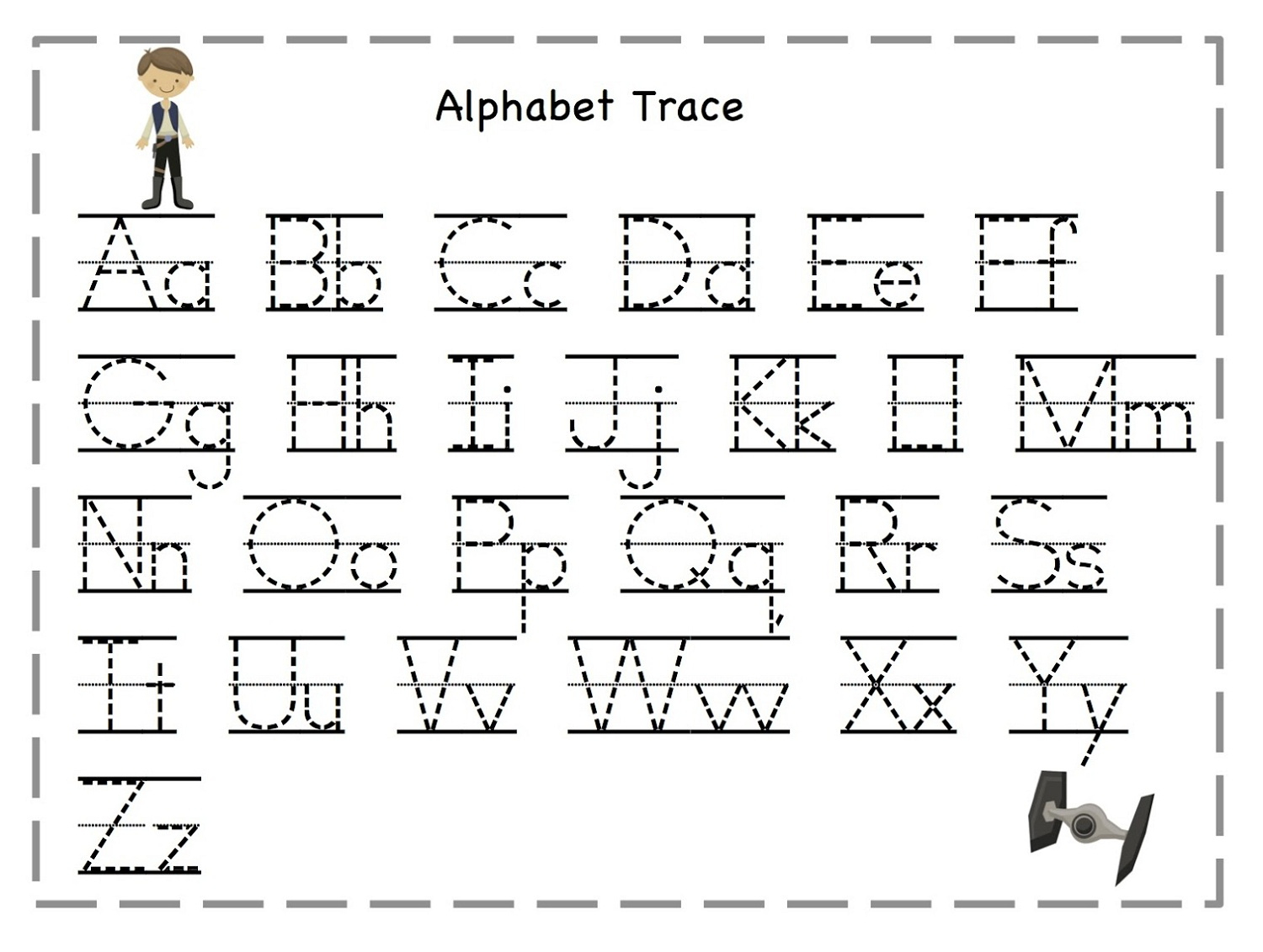 Trace Letters Worksheets. Letter. Alistairtheoptimist Free Worksheet - Free Printable Traceable Letters