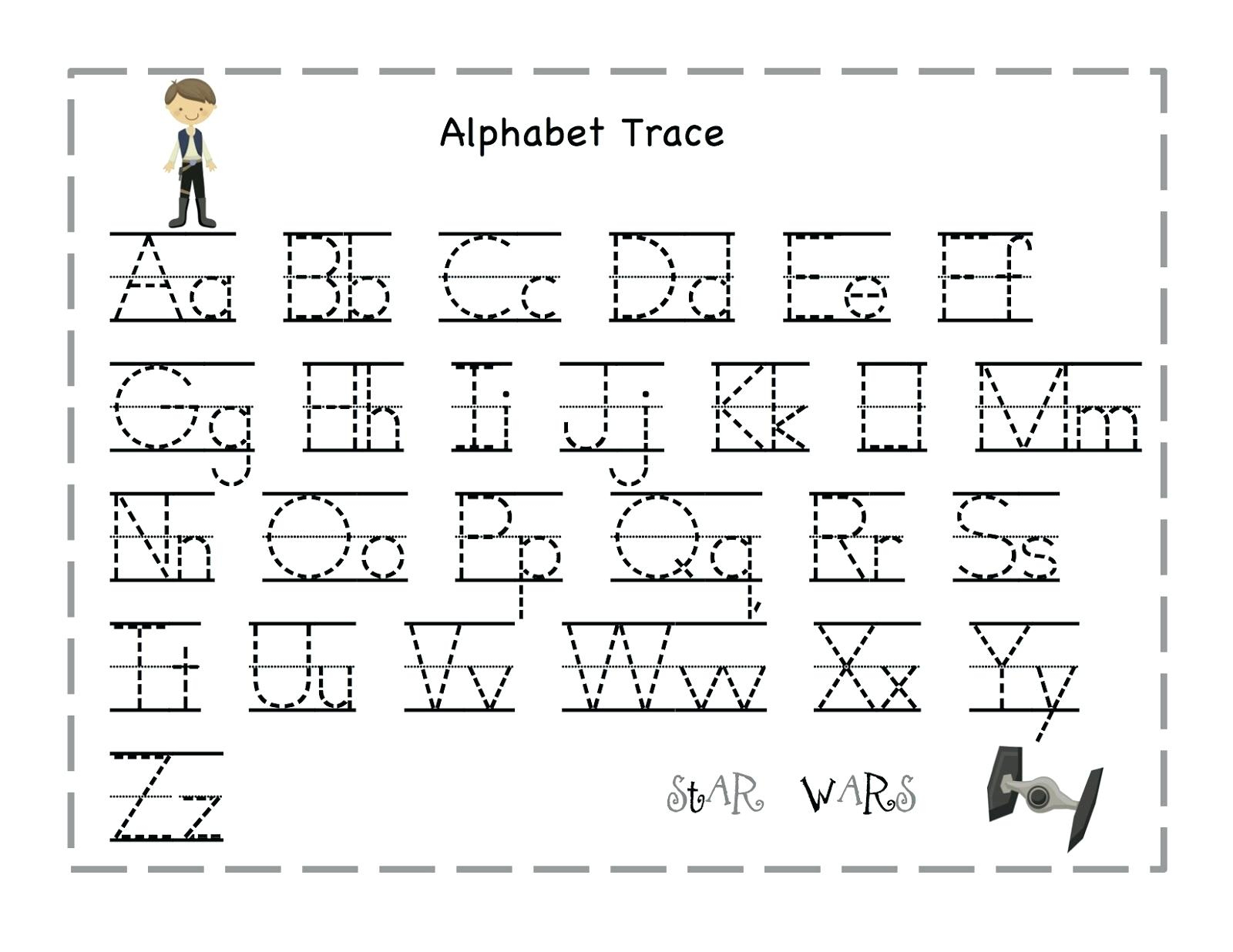 Tracing Alphabet Letters Printable Printable Tracing Letter Free - Free Printable Traceable Letters