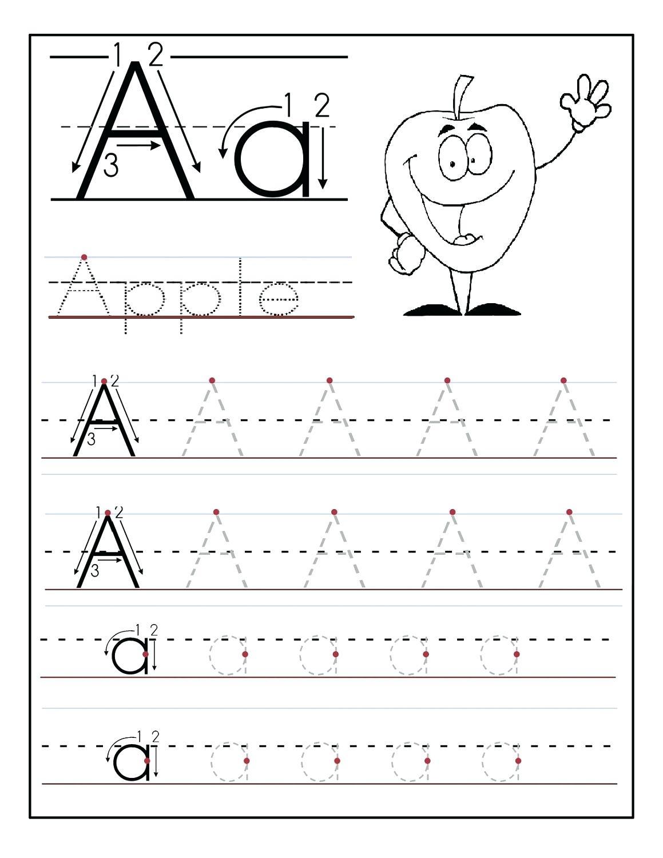 Tracing The Alphabet Printable – Cartofix.club - Free Printable Tracing Alphabet Worksheets