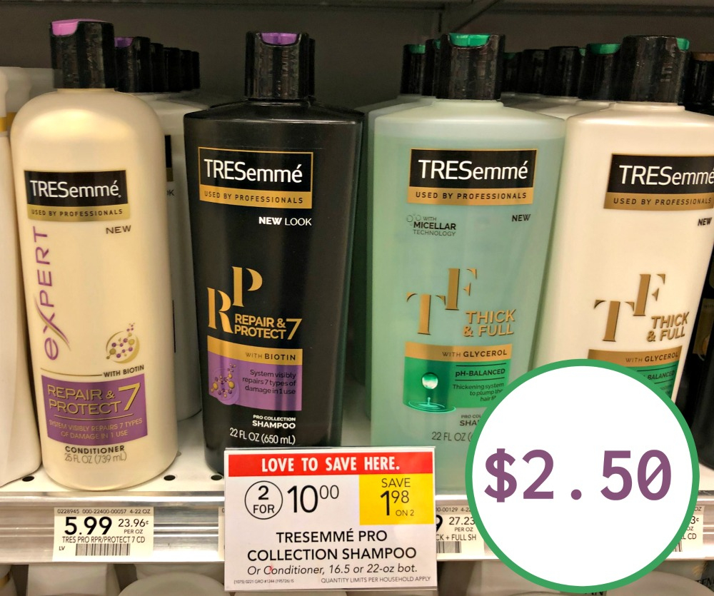 Tresemme, I Heart Publix - Free Printable Tresemme Coupons
