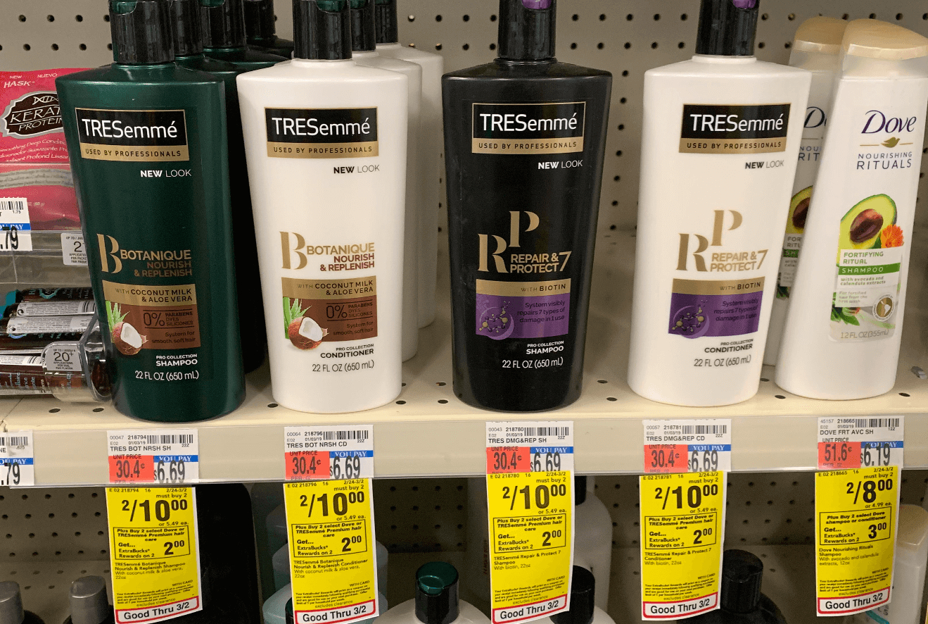 Tresemme Premium Shampoo & Conditioner As Low As $0.37 At Cvs!living - Free Printable Tresemme Coupons