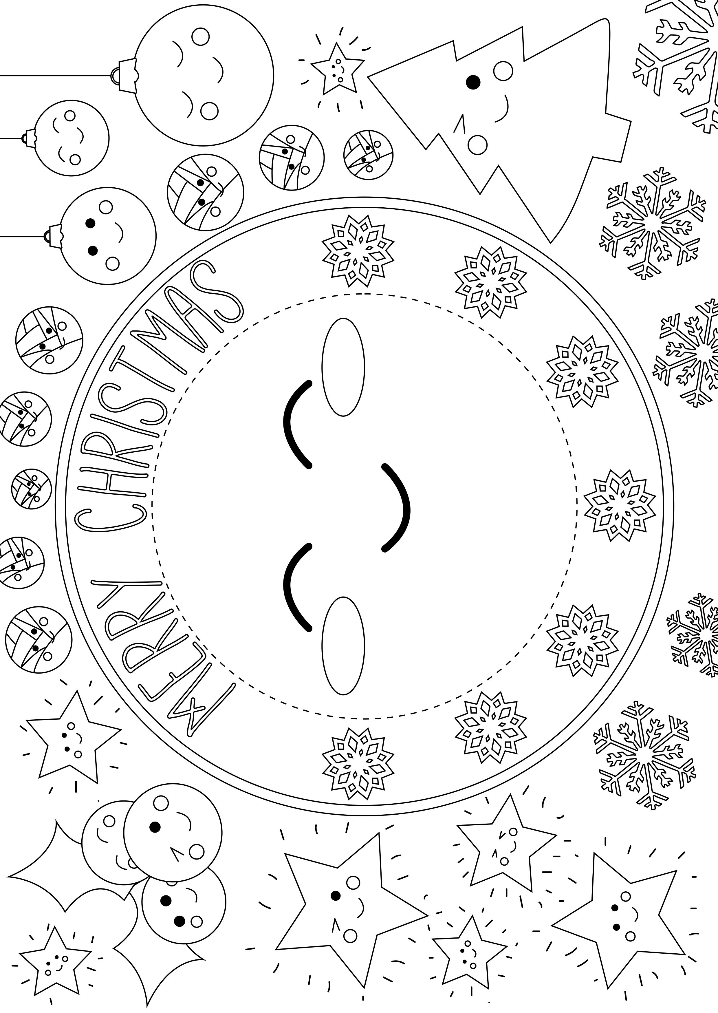 Trimcraft Advent Calendar Day 22- Free Printable Kids Placemat - Free Printable Christmas Placemats For Adults